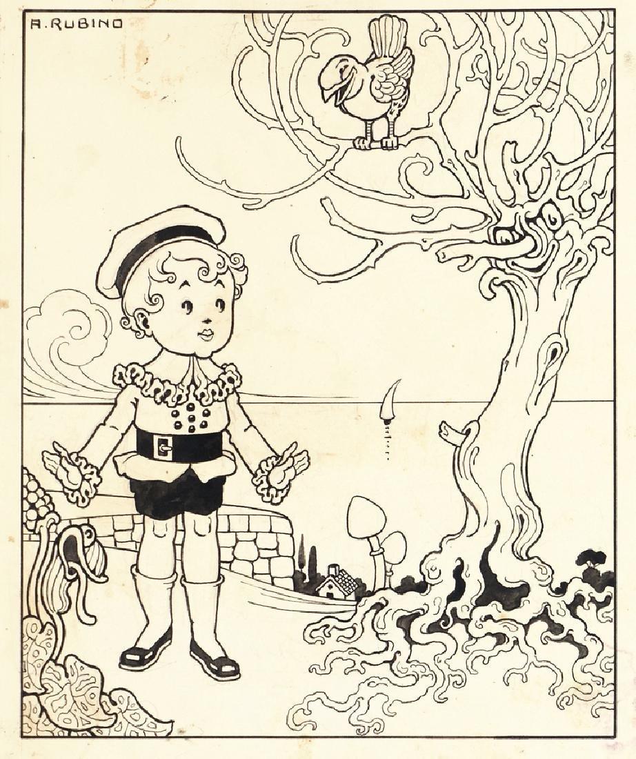 """Rubino Antonio - """"Rime piccoline"""", 1914"""