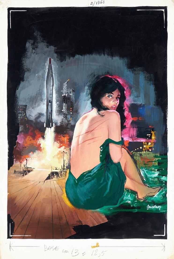 """Jacono Carlo - """"Bersaglio: Luna"""", 1963"""