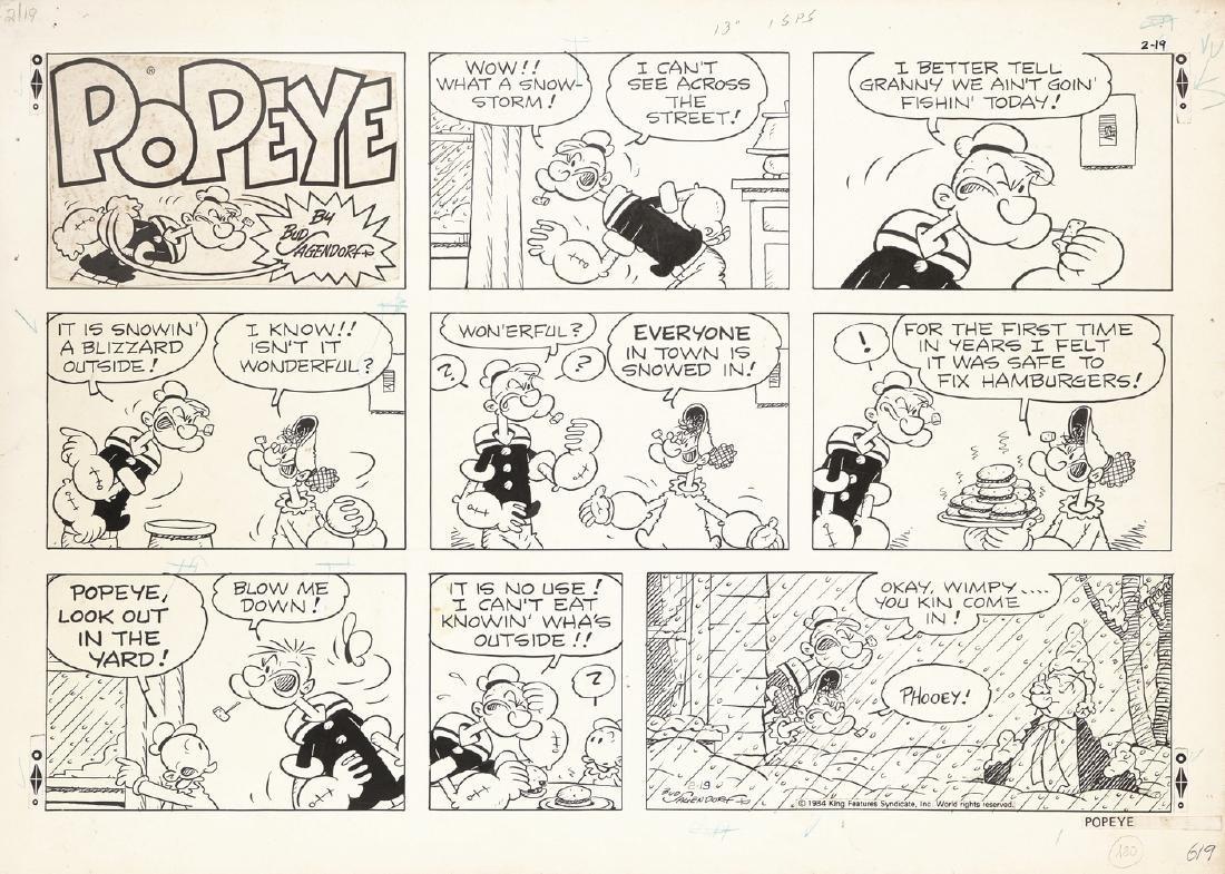"Sagendorf Bud - ""Popeye"", 1984"