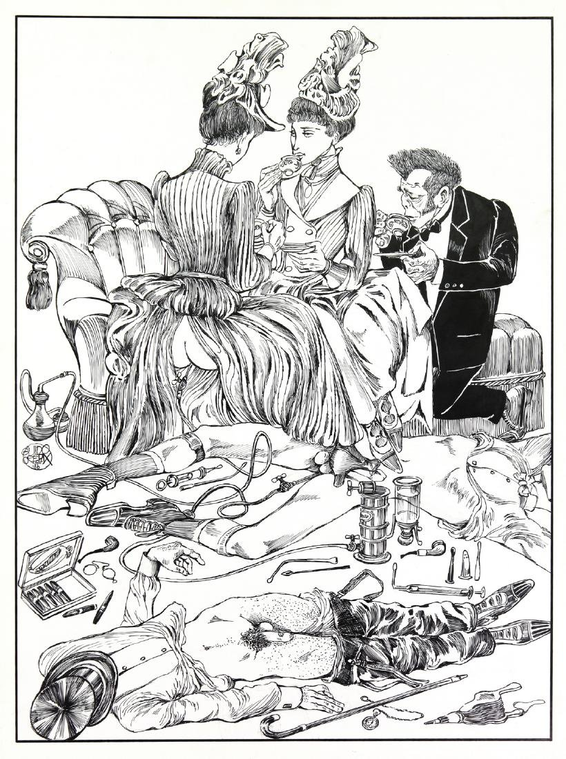 "Crepax Guido - ""Dr. Jekyll e Mr. Hyde"", 1986"