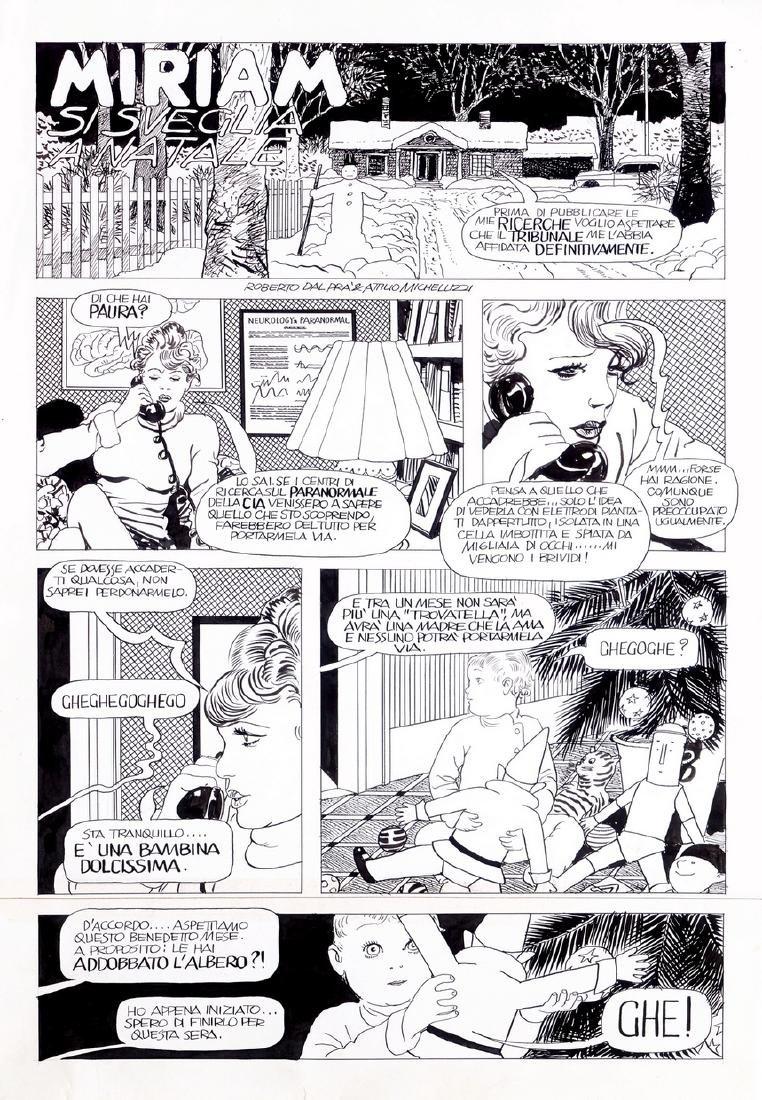 """Micheluzzi Attilio - """"Miriam si sveglia a Natale"""", 1989"""