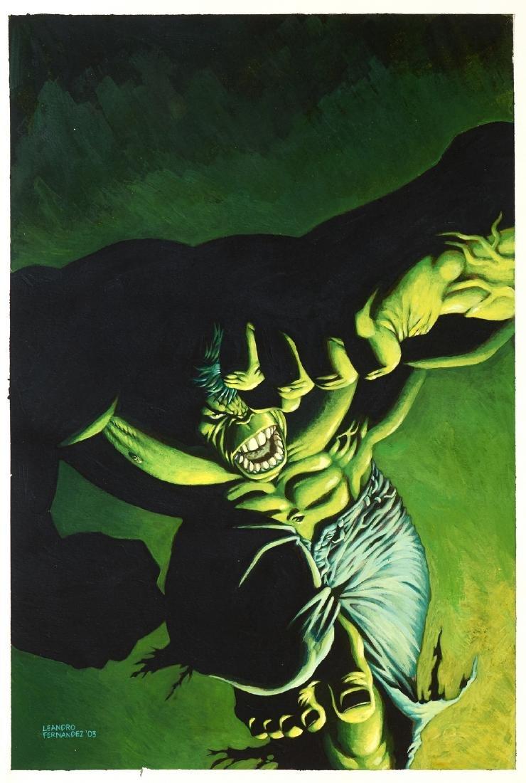 "Fernandez Leandro - ""The Incredible Hulk - Hide in"