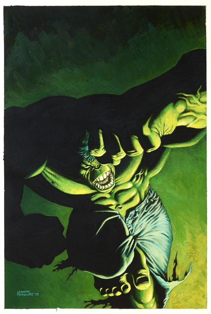 "Fernandez Leandro - ""The Incredible Hulk - Hide in"