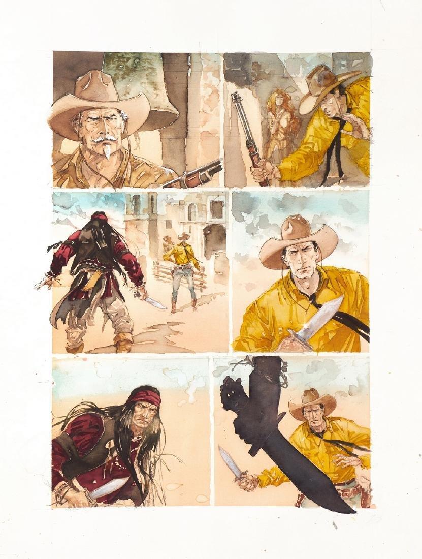 """Tisselli Sergio - """"Tex - Sfida alla vecchia missione"""","""