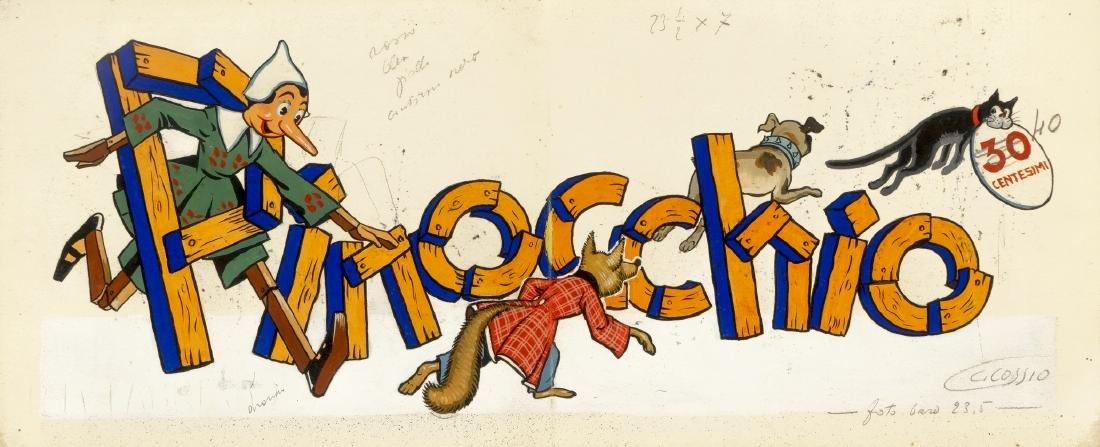 """Cossio Carlo - """"Pinocchio"""", 1937"""