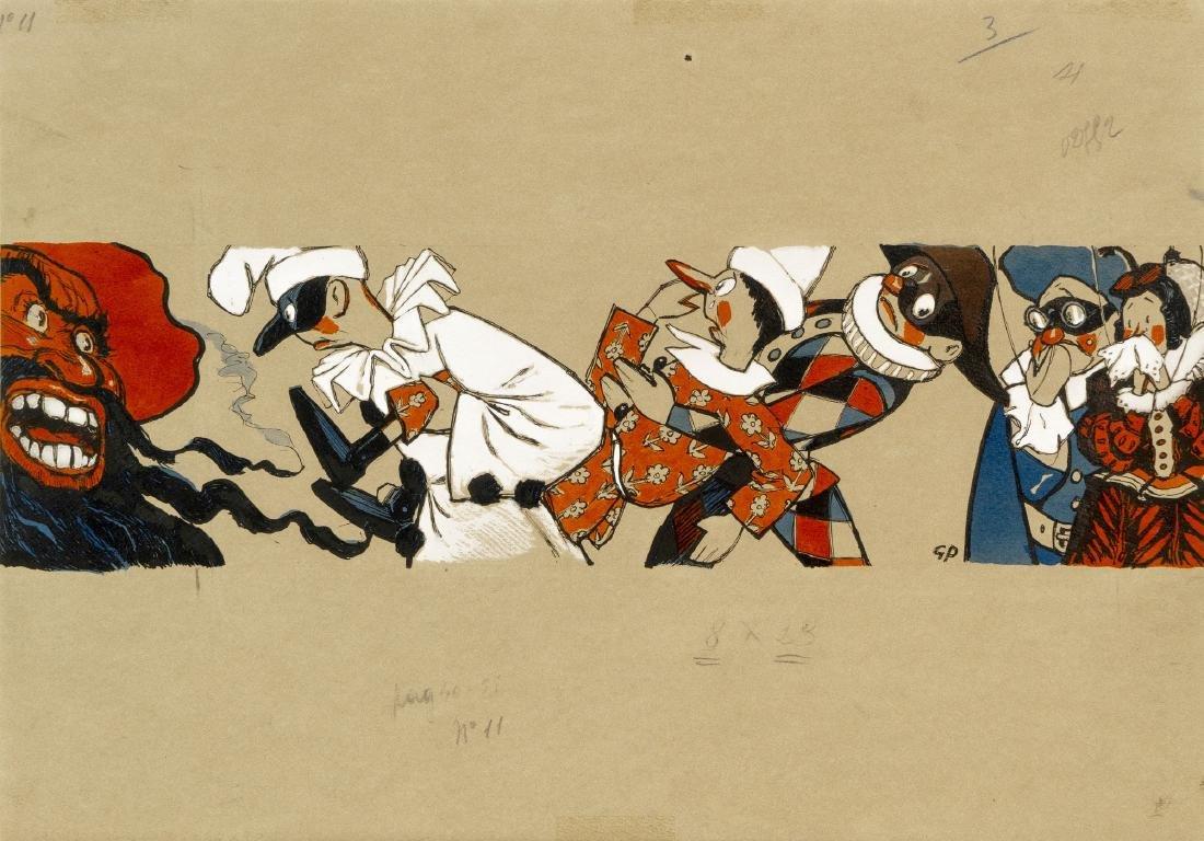 """Porcheddu Giuseppe - """"Pinocchio"""", 1942"""