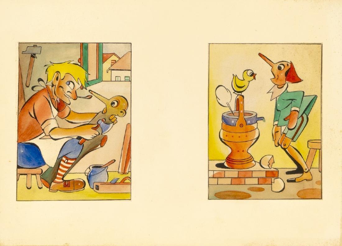 """Bizen (Zenobio Baggioli) - """"Pinocchio"""", anni"""