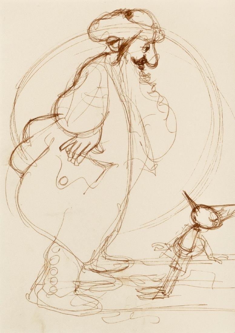 """Mattioli Leonardo - """"Pinocchio"""", anni '90"""