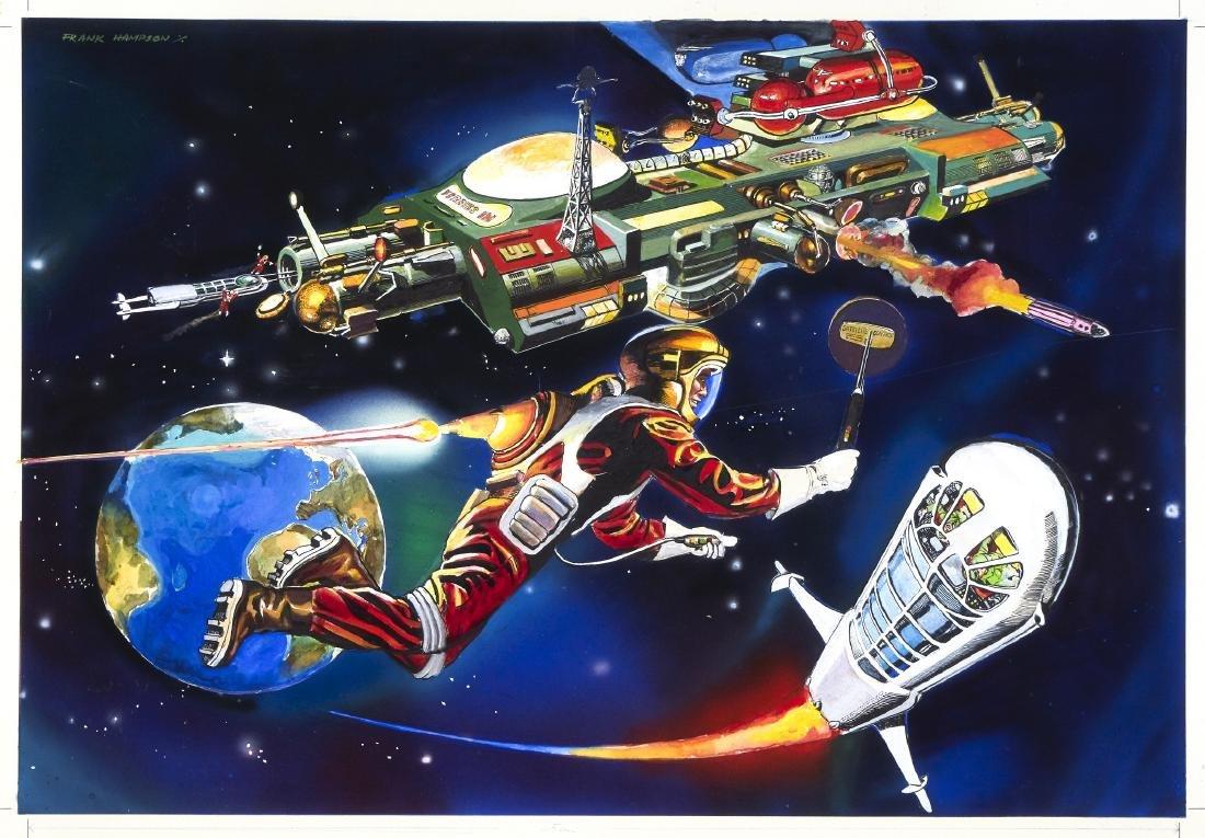 "Hampson Frank - ""Satellite control"", 1981"