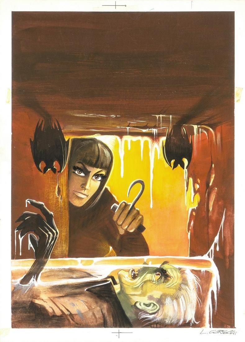 """Corteggi Luigi - """"Satanik - L'ibernato"""", 1968"""
