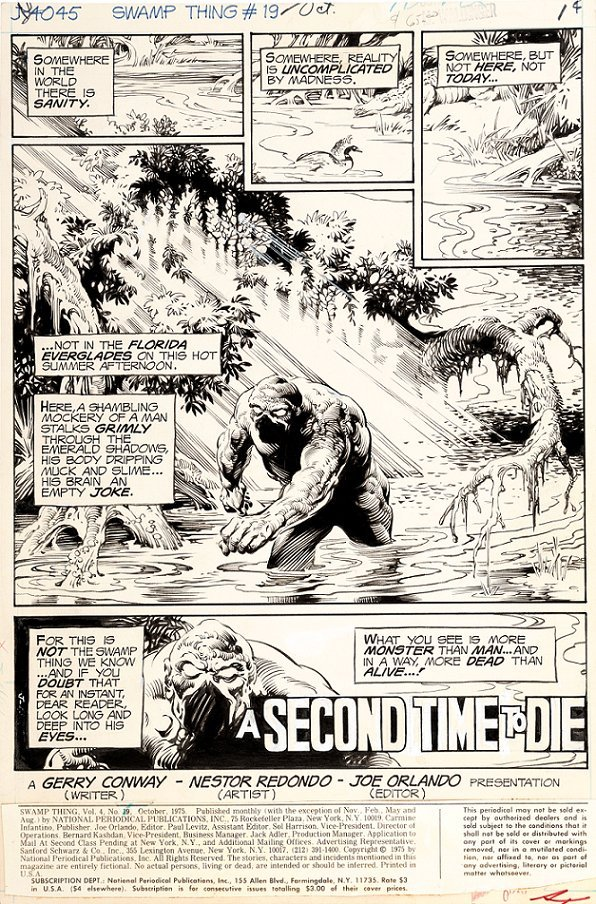 "Redondo Nestor - ""Swamp Thing - A Second Time to"