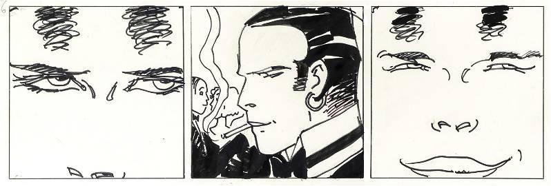 """Pratt Hugo - """"Corto Maltese - Tango """", 1985"""