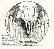 """Manara Milo - """"Omaggio a Moebius"""", 1987"""