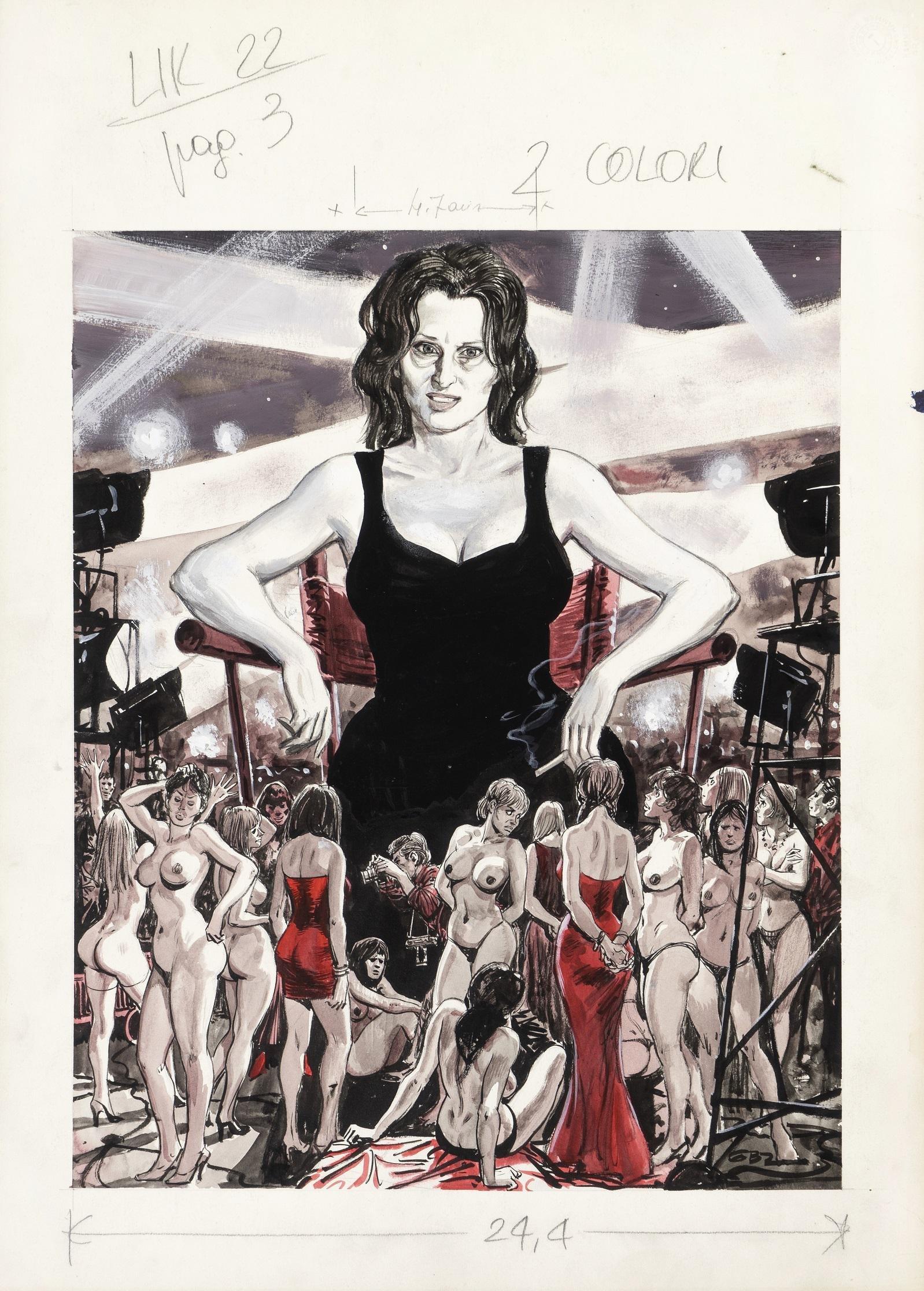 "Buzzelli Guido - ""Anna Magnani"", 1972"