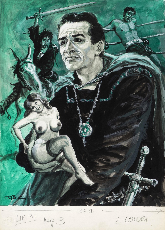 "Buzzelli Guido - ""Vittorio Gassman"", 1972"