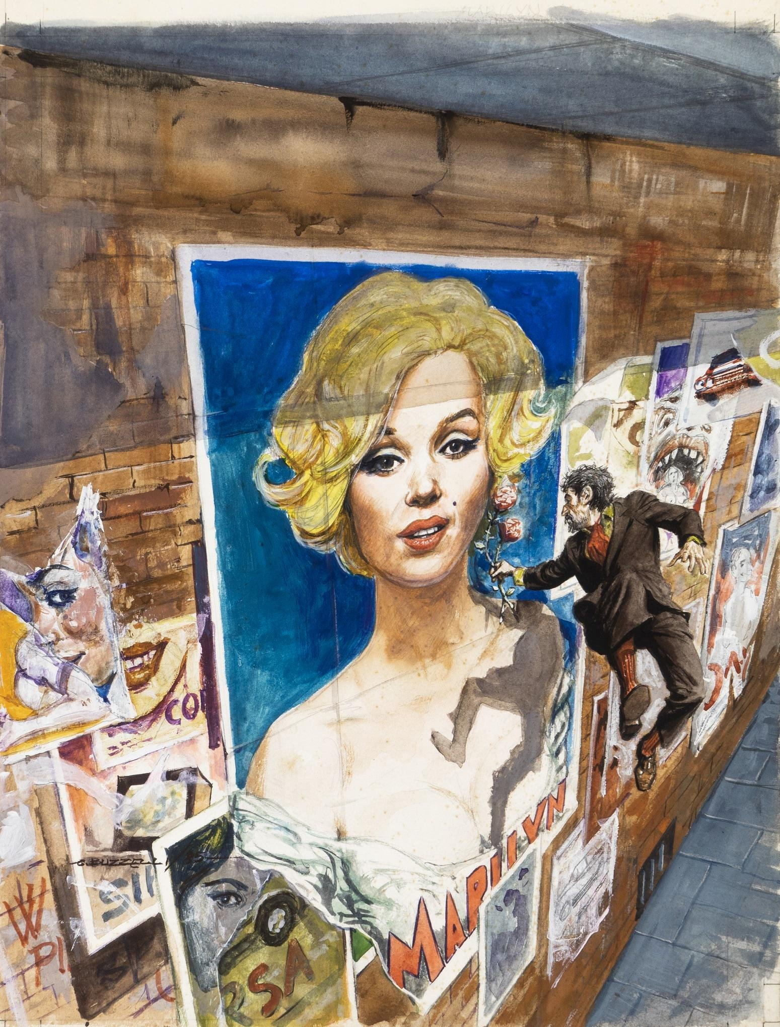 "Buzzelli Guido - ""Marilyn Monroe"", 1985"