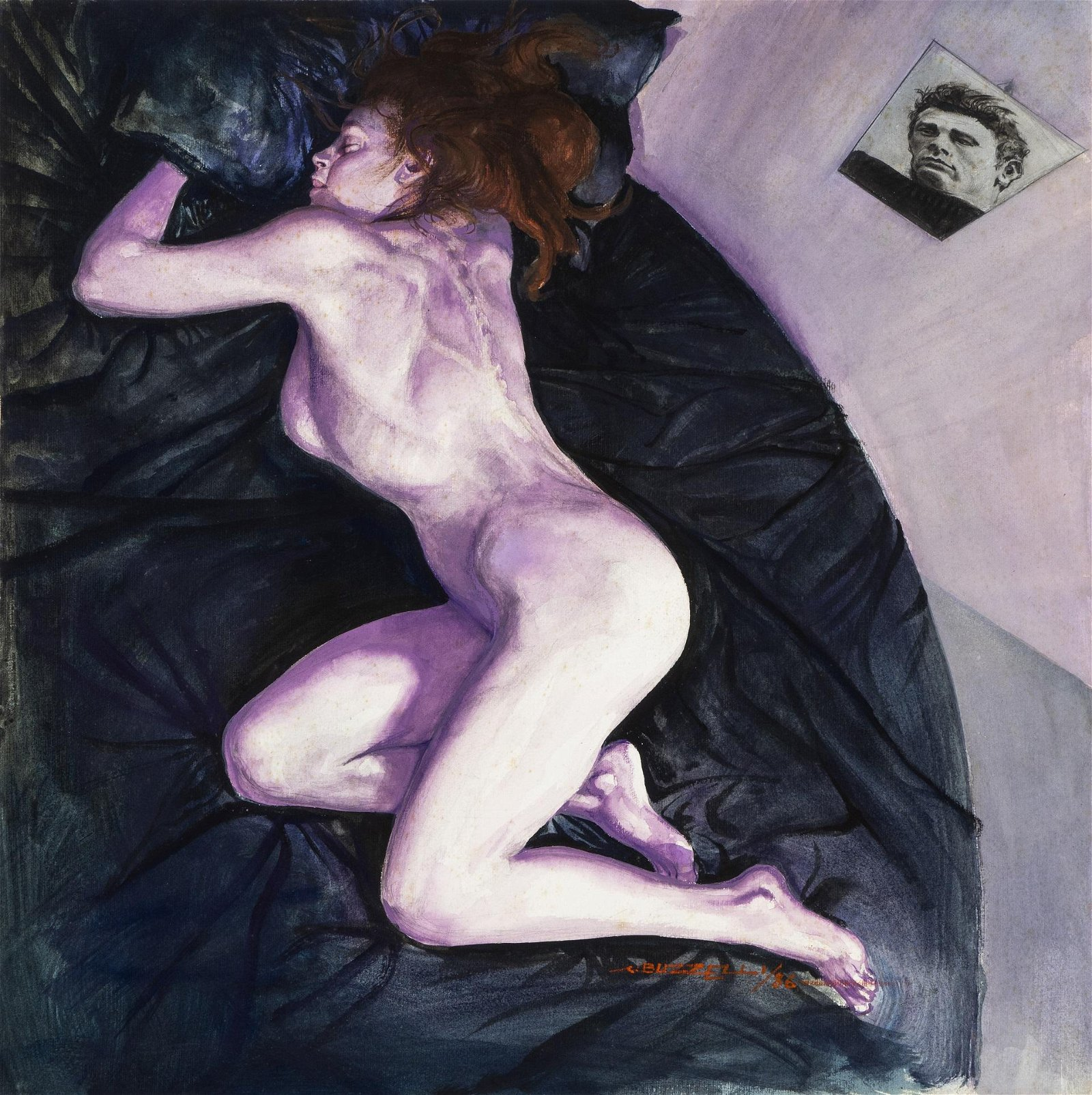 "Buzzelli Guido - ""Marilyn Monroe"", 1986"