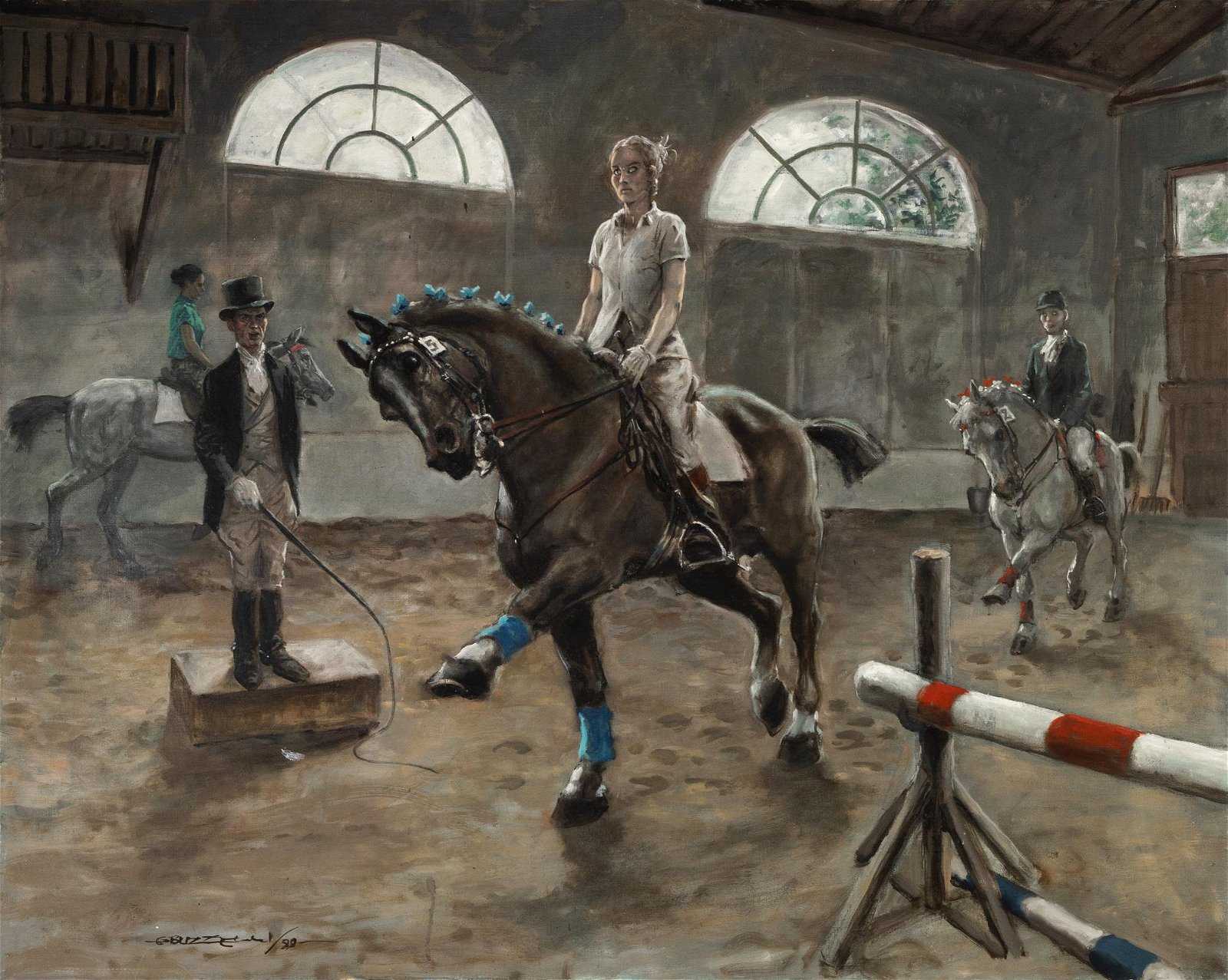 "Buzzelli Guido - ""Dressage"", 1988"