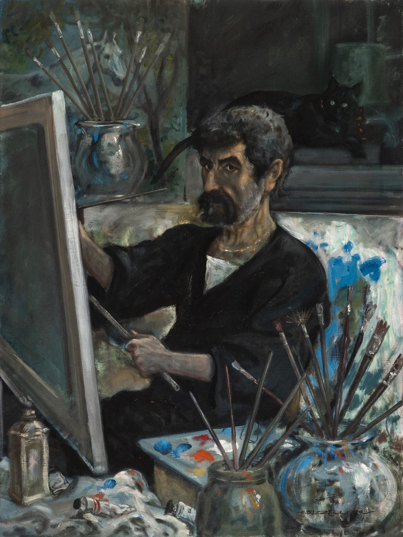 """Buzzelli Guido - """"Autoritratto"""", 1989"""