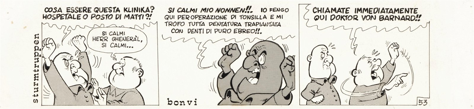 "Bonvi (Franco Bonvicini) - ""Sturmtruppen"", 1969"