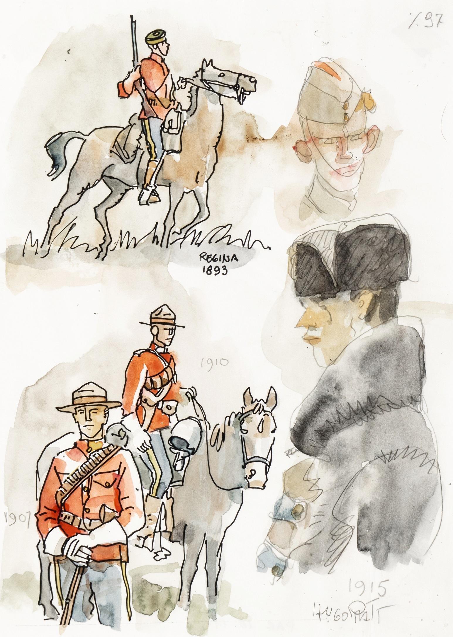"Pratt Hugo - ""Jesuit Joe - Royal Canadian Mounted"