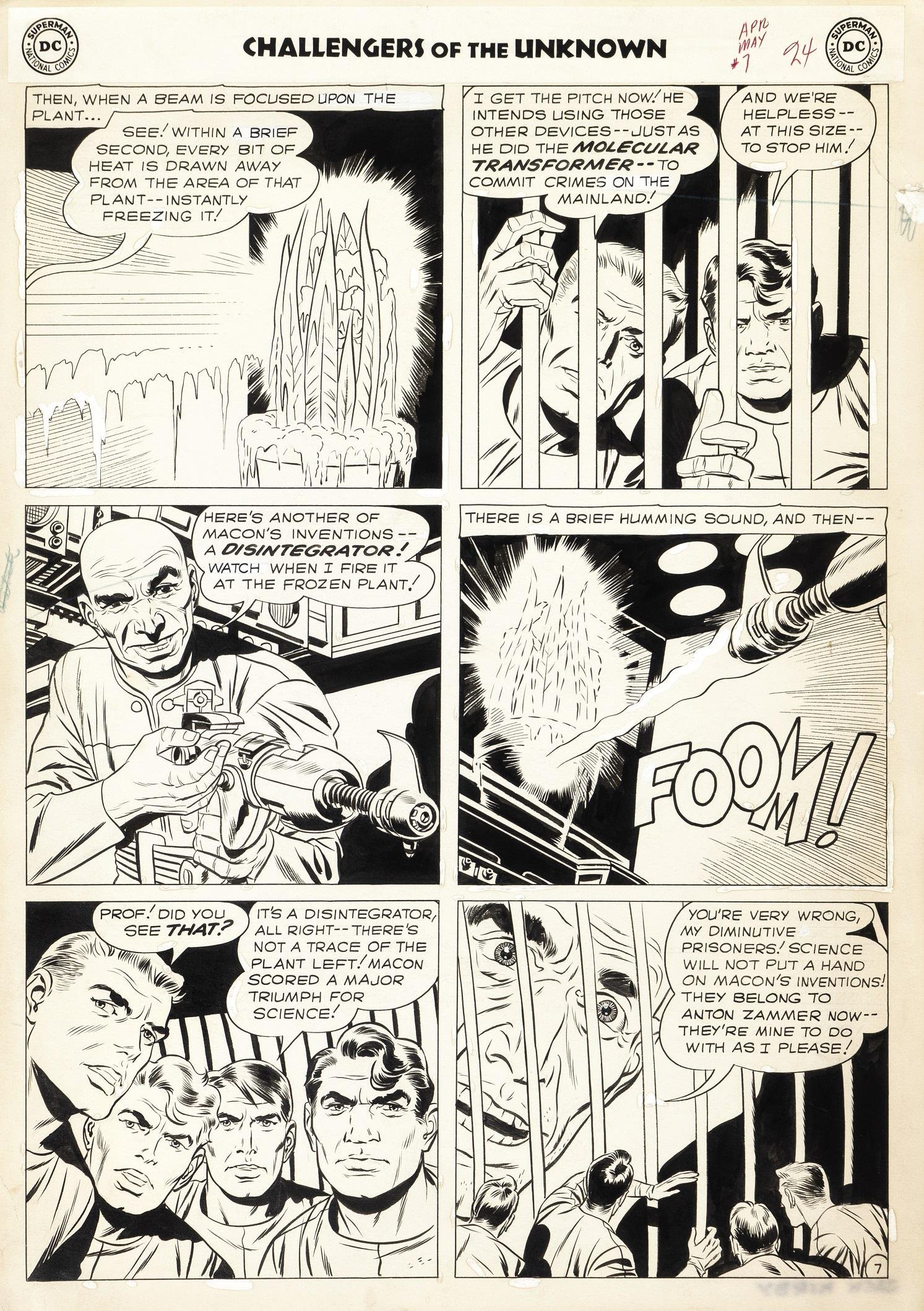 """Kirby Jack & Wood Wally - """"Challengers of the"""