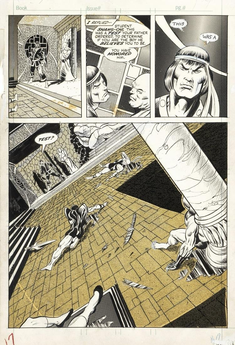 """Starlin Jim - """"The Deadly Hands of Kung Fu - The"""