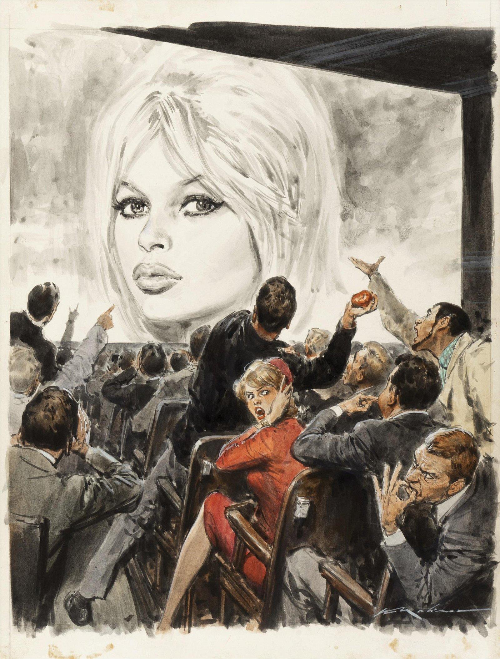 """Molino Walter - """"Brigitte Bardot"""", anni '"""