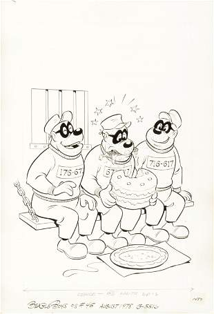"Alvarado Pete - ""The Beagle Boys"", 1978"