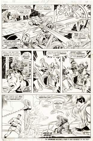 "Buscema John - ""Fantastic Four - Rumble on Planet"