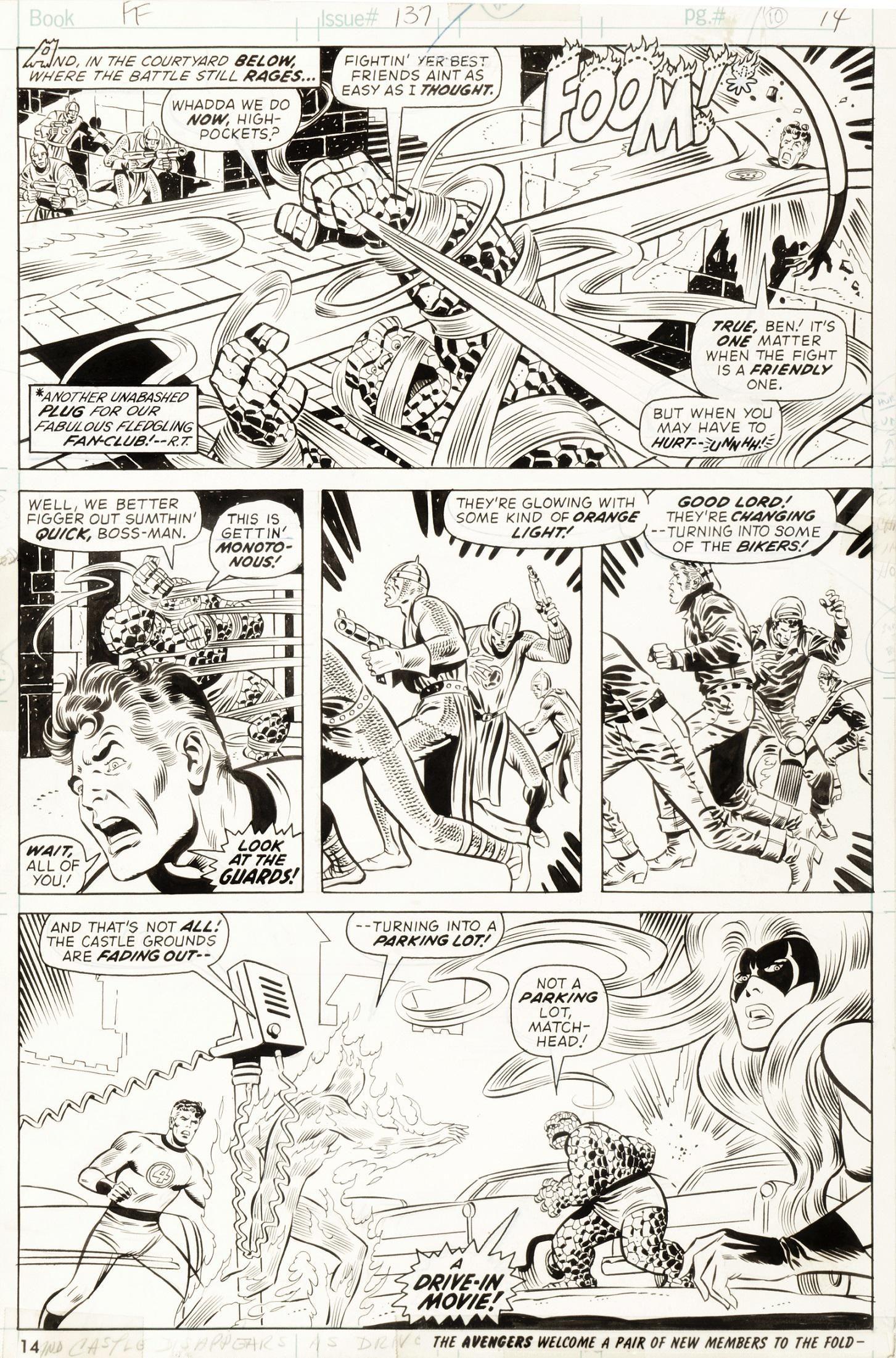 "Buscema John - ""Fantastic Four - Rumble on Planet"