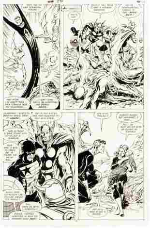 "Buscema John - ""Avengers n. 300 - Inferno"