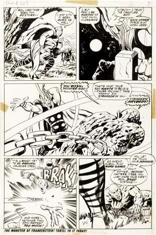"Buscema John - ""Thor - Firesword!"", 1973"