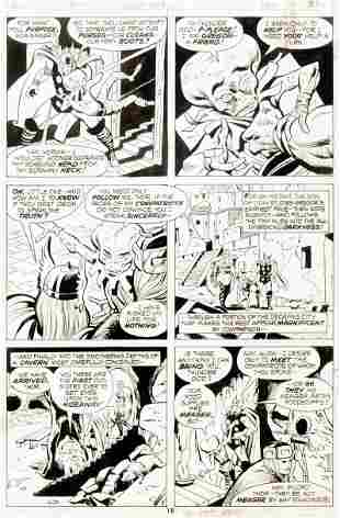 "Buscema John - ""Thor - The Demon Brigade! "","