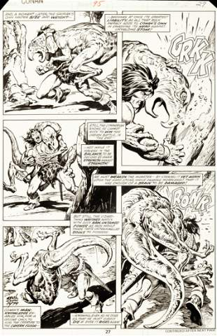 "Buscema John - ""Conan the Barbarian - The Return of"
