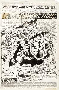 "Colan Gene - ""The Avengers - Eve of"