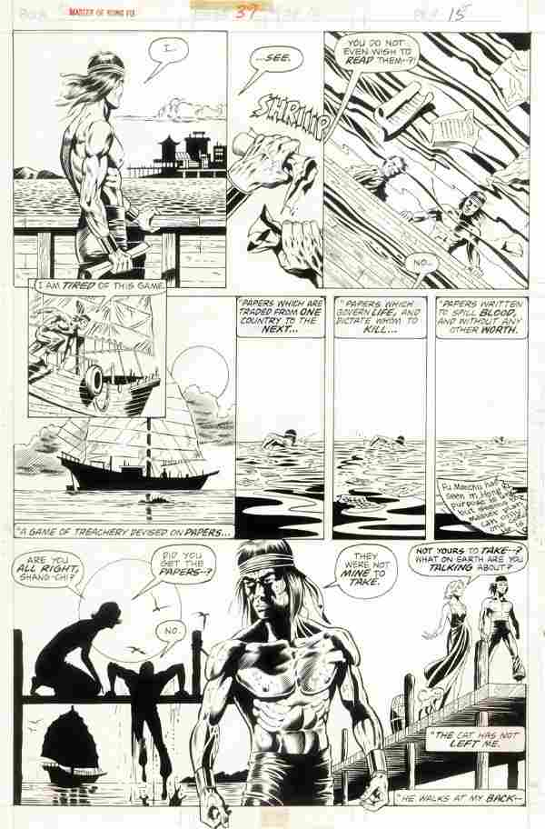 """Gulacy Paul - """"Master of Kung Fu - Fight Without"""