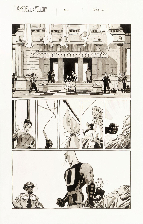 "Sale Tim - ""Daredevil: Yellow"", 2002"
