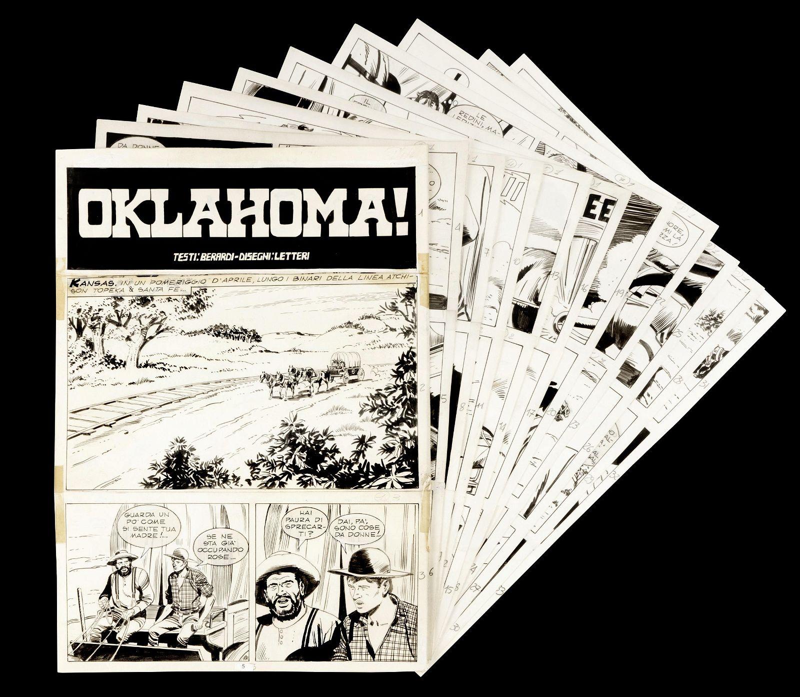 """Letteri Guglielmo - """"Tex - Oklahoma!"""", 1991"""