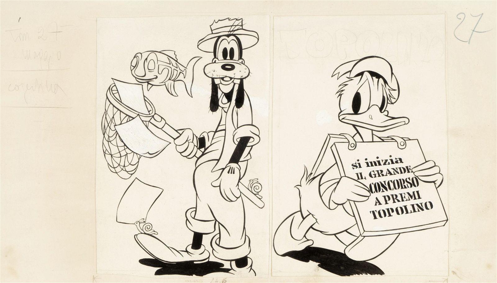 "Vergani Ambrogio - ""Topolino n. 27"", 1951"