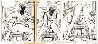 "Manara Milo - ""Il gioco"", 1983"