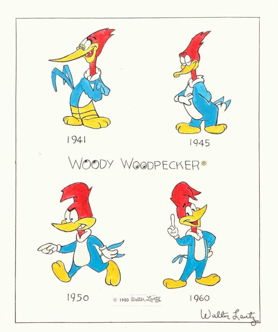 Lantz walter quot woody woodpecker