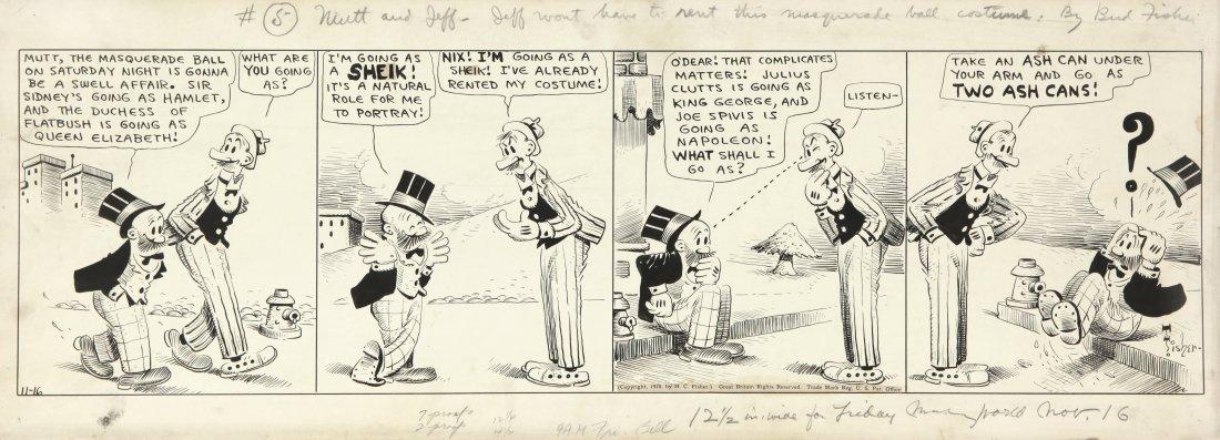 "Fisher Bud - ""Mutt and Jeff"", 1928"