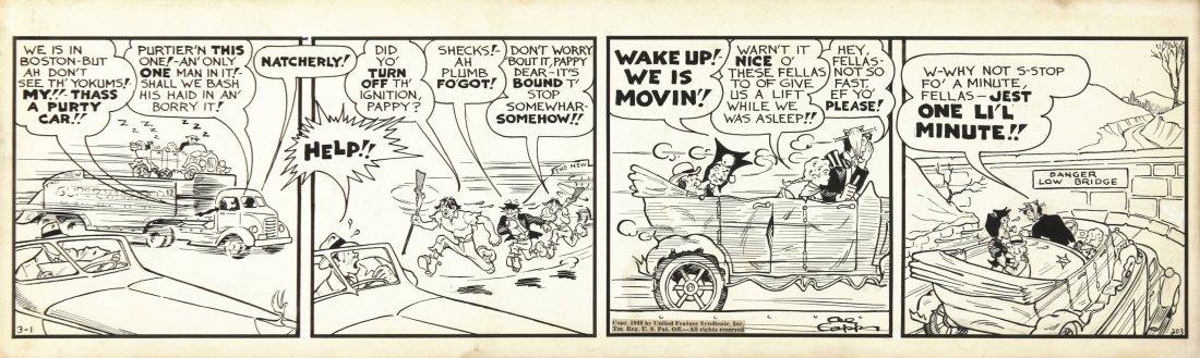 "Al Capp - ""Li'l Abner"", 1940"