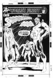 "Adams Neal - ""World's Finest Comics presents: Superman"