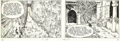 """Manara Milo - """"H.P. e Giuseppe Bergman"""", 1978"""