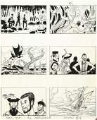 "Pratt Hugo - ""Le avventure di Simbad il marinaio"", 1963"