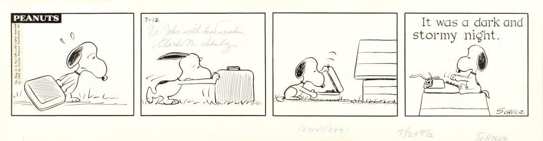 """Schulz Charles M. - """"Peanuts"""", 12/07/1965"""