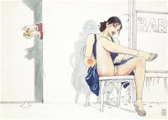 "Manara Milo - ""Il Gioco"", 1989"