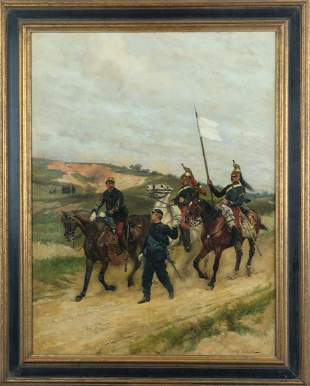 Edouard Detaille - Le Parlimentaire - 1891